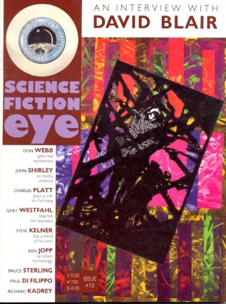 Science Fiction Eye Number 13. Stephen P. Brown