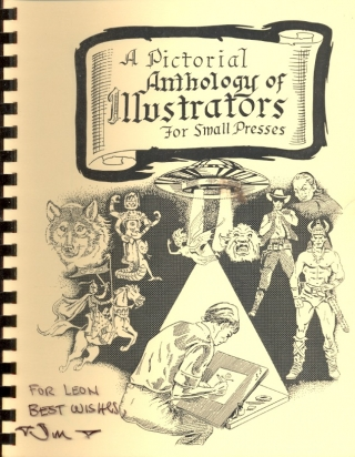 A Pictorial Anthology of Illustrators for Small Presses. Ted Guerin, publisher/.