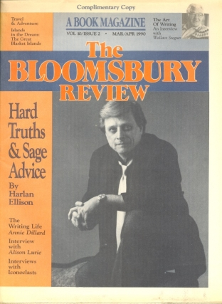 The Bloomsbury Review: Volume 10 Issue 2 March/April 1990. BLOOMSBURY REVIEW, Harlan Ellison