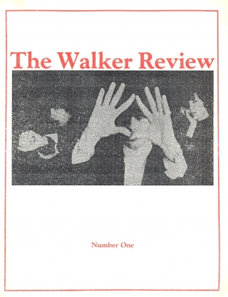 The Walker Review Number 1, Autumn 1984. Dennis Walker.
