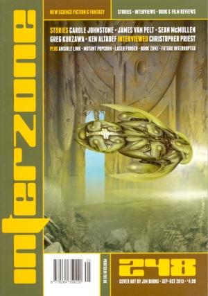 Interzone #248 September/October 2013. INTERZONE, David Pringle.
