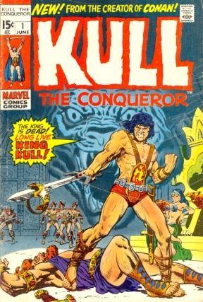 Kull the Conqueror Number 1. KULL THE CONQUEROR, Robert E. Howard