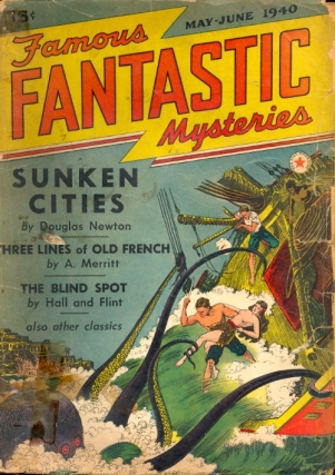 Famous Fantastic Mysteries May/June 1940 Volume 2 Number 2. FAMOUS FANTASTIC MYSTERIES