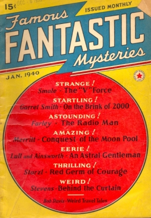 Famous Fantastic Mysteries: January 1940. FAMOUS FANTASTIC MYSTERIES
