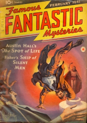 Famous Fantastic Mysteries: February 1941. FAMOUS FANTASTIC MYSTERIES