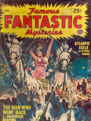 Famous Fantastic Mysteries: December 1947. FAMOUS FANTASTIC MYSTERIES