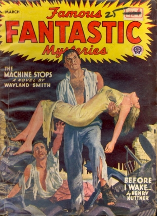 Famous Fantastic Mysteries: March 1945. FAMOUS FANTASTIC MYSTERIES