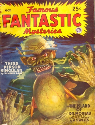 Famous Fantastic Mysteries: October 1946. FAMOUS FANTASTIC MYSTERIES