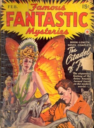Famous Fantastic Mysteries: February 1942. FAMOUS FANTASTIC MYSTERIES