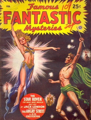 Famous Fantastic Mysteries: February 1947. FAMOUS FANTASTIC MYSTERIES