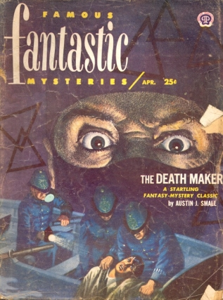 Famous Fantastic Mysteries: April 1952. FAMOUS FANTASTIC MYSTERIES