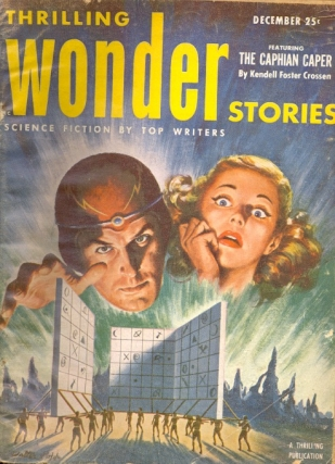 Thrilling Wonder Stories: December 1952. THRILLING WONDER STORIES