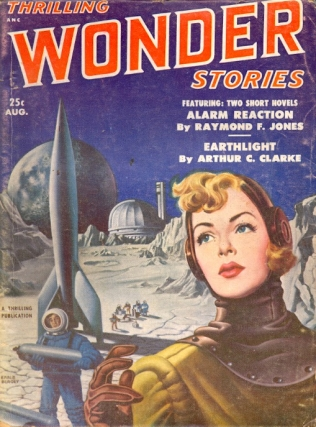 Thrilling Wonder Stories: August 1951. THRILLING WONDER STORIES