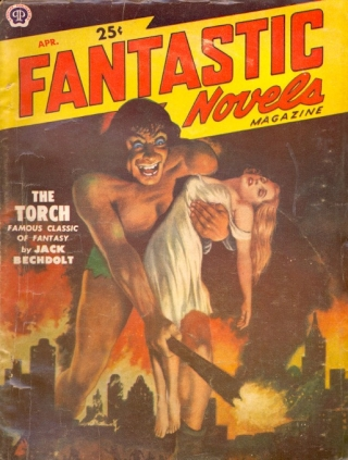 Fantastic Novels Magazine: April 1951. Fantastic Novels Magazine