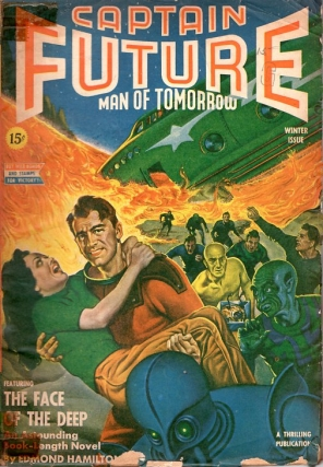 Captain Future: Winter 1943. Edmund Hamilton, CAPTAIN FUTURE