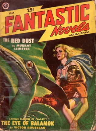 Fantastic Novels Magazine: May 1949. Fantastic Novels Magazine