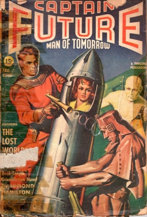 Captain Future: Fall 1941. Edmund Hamilton, CAPTAIN FUTURE