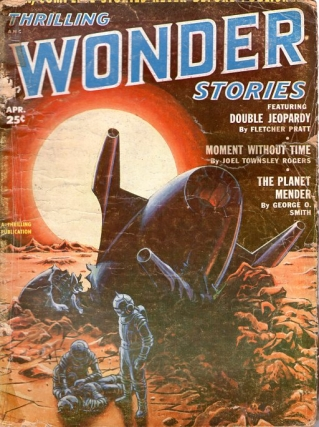 Thrilling Wonder Stories: April 1952. THRILLING WONDER STORIES