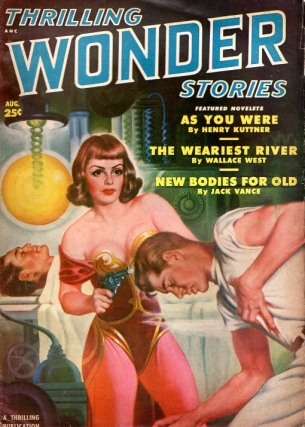 Thrilling Wonder Stories: August 1950. THRILLING WONDER STORIES