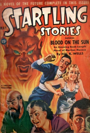 Startling Stories May 1942. STARTLING STORIES
