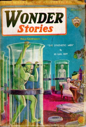 Wonder Stories: December 1930. Hugo Gernsback
