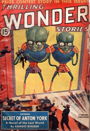 Thrilling Wonder Stories: August 1940. THRILLING WONDER STORIES