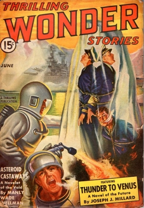 Thrilling Wonder Stories: June 1942. THRILLING WONDER STORIES