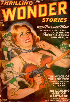 Thrilling Wonder Stories: February 1950. THRILLING WONDER STORIES