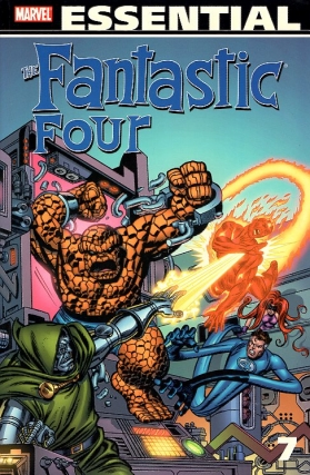 The Essential Fantastic Four Volume 7. Stan Lee, Jack Kirby