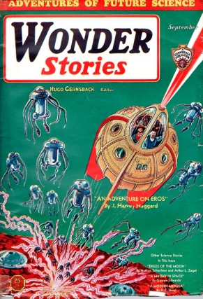 Wonder Stories: September 1931. WONDER STORIES, Hugo Gernsback