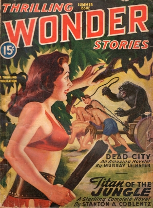 Thrilling Wonder Stories: Summer 1946. THRILLING WONDER STORIES
