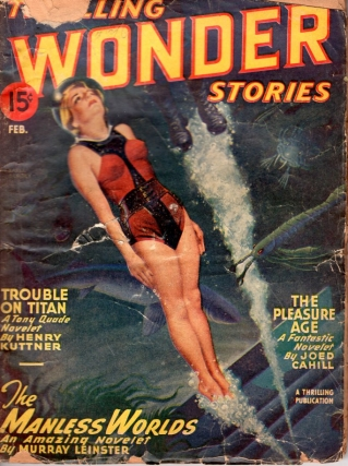 Thrilling Wonder Stories: February 1947. THRILLING WONDER STORIES