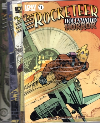Rocketeer: Horror in Hollywood Issues 1,2,3 and 4. Roger Langridge