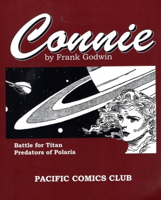 Connie: Battle for Titan / Predators of Polaria. Frank Godwin